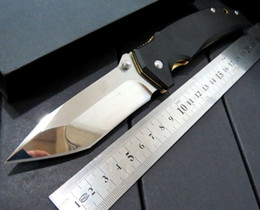Wholesale New Camping Products - NEW Product. Custom BM42 BENCHMADE wolf Tenacious Folding Knife 8cr Blade G10 Handles, good knife.