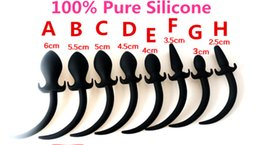 Wholesale Dog Tail Butt Plugs - 100% Pure Silicone Dog Tail Anal Butt Plug In Adult Games,Anus Stimulation Expansion Tools ,Sex Products Toys For Women And Men