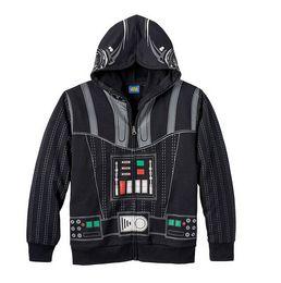 Wholesale Cosplay Sweaters - New 3-10Yrs Chidren Star Wars Hoodies&Sweater Boys Cartoon Cosplay Cotton Coat&Jacket Kids Long Sleeve Cartoon Hoodies