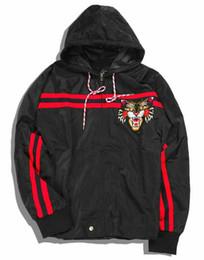 Wholesale Y Jacket - High Quality Embroidery Tiger Men Women Hoodie Justin Bieber Palace Yeezus Kanye West Y-3 Windbreaker Jacket