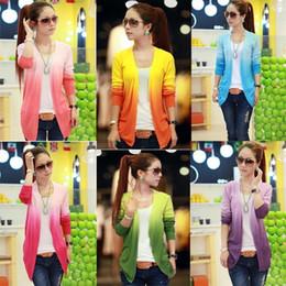 Wholesale Cardigan Sweet Candy - Women Lace Sweet Candy Color Crochet Knit Top Thin Blouse Women Sweater Cardigan B20 NZ045