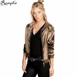 Wholesale Womens Jackets Leather - Streetwear women jackets 2016 New autumn winter jacket coat Casual short tops basic parka Womens fashion slim Open Stitch Europe q1113