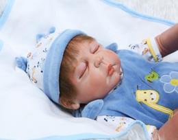 "Wholesale Reborn Doll Hair - Wholesale- NPK fake baby reborn boy dolls 23"" Full body silicone reborn baby dolls rooted hair bebe reborn menina de silicone"