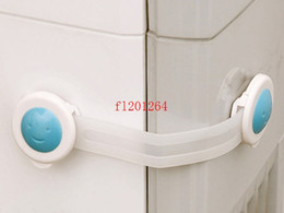 Wholesale Ship Cupboard - 600pcs lot Fedex DHL Free Shipping Baby safety lock child drawer safety lock cabinet lock cupboard lock