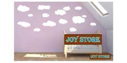 Wholesale Baby Quotes Wall Decal Stickers - Nursery Wall Stickers - Cloud Wall Decals - Children Wall Decals babies quotes new products for 2013 45*100CM Free shipping