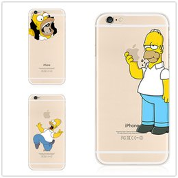 Wholesale Iphone Popular Case - Matt PC hard case Cute popular cartoon eating apple designs printed phone case For iPhone 6 plus 6S plus 5.5 inch with screen protector