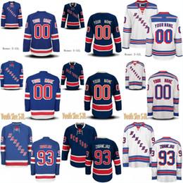 hockey 93 Sconti Maglia New York Rangers New York Rangers 93 Mika Zibanejad 89 Pavel Buchnevich 20 Chris Kreider 61 Maglia New Jersey Cheap Hitch Jersey personalizzata di Rick Nash