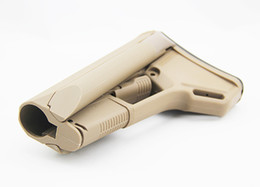 Almofadas de aterramento on-line-Tactical MP A-CS Stock com Butt-Pad In Box terra escura