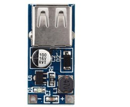 Wholesale 5v Boost - 5pcs DC-DC USB Output charger step up Power Boost Module 0.9V ~ 5V to 5V 600MA USB Mobile Power Boost Board