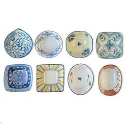 Wholesale Ceramic Dessert Bowls - cute japanese bowl ceramic small rice bowl creative dessert bowl kawaii japanese tableware 2J125