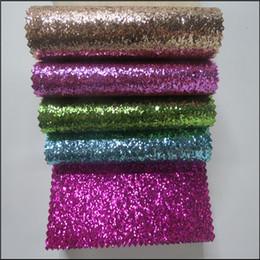 100 m robusto Glitter tecido Papel De Parede Glitter parede de Prata Brilhante Chunky glitter Papel De Parede para Sala de estar KTV casamento Decorativo pu couro de