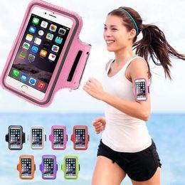 тренажерный зал Скидка Wholesale-Adjustable Running SPORT GYM Armband Bag Case For  Galaxy Note 5 Waterproof Jogging Arm Band Mobile Phone Belt Cover