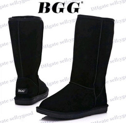 Wholesale Light Blue Suede Boots - Free shipping High Quality BGG Women's Classic tall Boots Womens boots Boot Snow boots Winter boots leather boots boot 1pairs