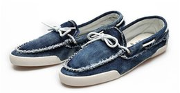 Wholesale Lowest Priced Mens Shoes - Wholesale-2015 New arrival Low price Mens Zapato Del Boat Casual Shoes Jeans Canvas Slip On Flats Loafer Shoes-- Free shipping QT1
