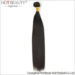Wholesale Order Beauty Products - Sample Order 1 Pc lot Brazilian Virgin Hair Straight Weave,No Tangle No Shed 100G PC Hot beauty hair product