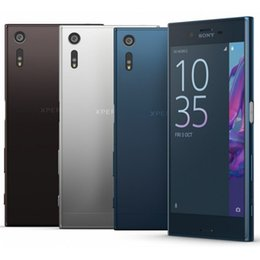 Wholesale Camera Xperia - Refurbished Original Sony Xperia XZ F8331 5.2 inch Quad Core 3GB RAM 32GB ROM 23MP Unlocked 4G LTE Android Smart Mobile Phone DHL 1pcs