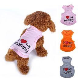 Wholesale Dog Costume Dachshund - Cat Clothes Dachshund Life Dog Vest Pet Shop Dog Costumes Coat Chihuahua T Shirt For Dog Clothes