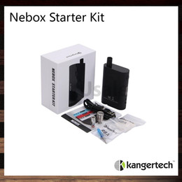 X cube mini on-line-Kanger Nebox Starter Kit Kit Kangertech Nebox 60W TC VW Mod Com Capacidade 10ml 100% Original VS eGrip X Cube Mini
