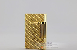 Wholesale Gift Package Metal - Say gas lighters LIGNE two series of packages mail a gift
