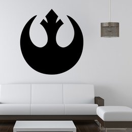 Wholesale Pixar Cars Decals - Star Wars Wall Art Sticker wall Decal DIY Home Decoration Wall Mural Removable Bedroom Sticker Free shipping cars pixar
