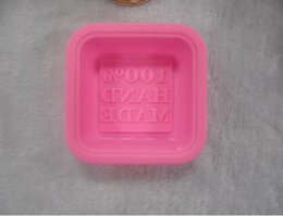 Wholesale hand cookies - hand made design Silicone Cake Mold ,Cupcake Pan Soap ,silicoe soap mold mould