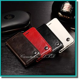 Wholesale Hanging Wallets - 2015 new crazy horse pu leather case with hang lanyard for iphone 6 6s samsung s6 note 4 HTC xiaomi LG huawei