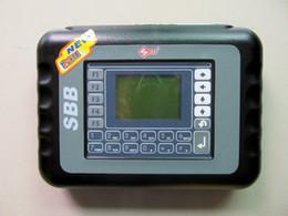 Wholesale Toyota Transponder Key Maker - Newest SBB Silca V33.02 SBB Key Programmer Immobilizer For Multi Brand Cars No Need Tokens 9 Languages Key Pro Maker Transponder