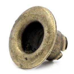 """Wholesale Eyelet Bronze - 300PCs Eyelets Scrapbooking Stamping Card Making Round Bronze Tone 3 8""""x 2 8"""""""