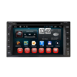 Wholesale Touch Screen Radio Sale - Cheap Car DVD Player Android OS 4.4 Dual Core Car DVD Player Capacitive Touch Screen Built-in GPS Navigation Hot Sale 6204A