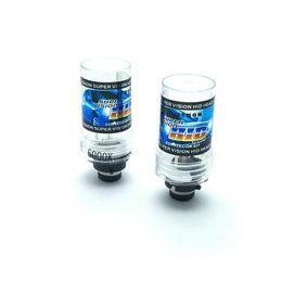 Wholesale Headlight Bulbs Replacement - New 1 PAIR 12V D2S Xenon bulb 4300k Motorcycle Headlight HID 6000k 8000k xenon D2S 6000k hid xenon replacement bulb lamps