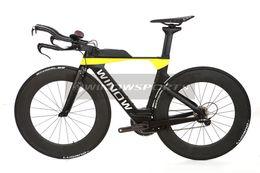 Wholesale Time Carbon Road Bikes - 2017 Newest TT Road Bike Frame Time Triathlon Bicycle Carbon Frame+fork+seat post+headset+TT handlebar