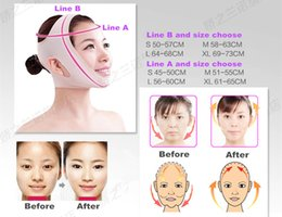 Wholesale Cheeks Face Lift - Thin face mask face slimming mask face care skin chin face Cheek slimming v-line face lift bandage New slim mask anti-sag beauty facemask