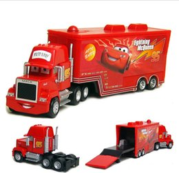model metal toys cars prices - 2015 Pixar Cars diecast figure Mack toy Alloy Car Model for kids children-Container truck Red-No.95 Car MACK HAULER McQueen Dolls A549X
