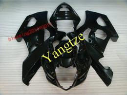 Aftermarket fairing gsxr online-AFTERMARKET FAIRING KIT für GSXR 1000 03-04 GSXR 1000 2003 2004 03 03 GSXR1000 GSXR1000 2003 2004 FULL BLACK
