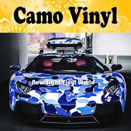 camuflagem vinil carro envoltórios Desconto Jumbo Baby Blue Camuflagem Envoltório de Vinil Jumbo Urban Camo Noite Envoltório Do Carro Dreno de Ar Envoltório Do Veículo Tamanho: 1.50 * 30 m / Roll
