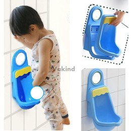 Wholesale Toilet Training For Kids - V1NF Children Potty Toilet Training Kids Urinal Plastic for Boys Pee 4 Suction Free Shipping