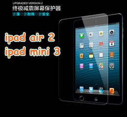 Wholesale Ipad Mini Protector Guard - For ipad air 2 3 4 5 6 mini 3 9H Tempered Glass Screen Protector Film Explosion-Proof Screen Guard for ipad 6 Mini 3 ipad pro 12.9 inch