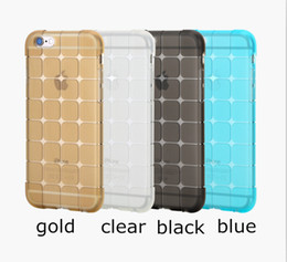 Wholesale Galaxy Note Series - Rock 3D Magic Cube Grid Series Soft Gel TPU Transparent Protective Phone Case Back Cover For iPhone 6 6S Plus Samsung galaxy S6 edge note 5