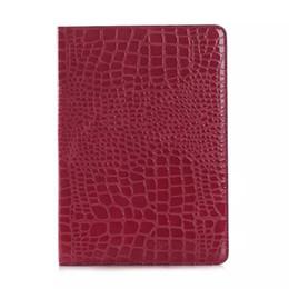 Wholesale Ipad Mini Crocodile Pink Case - Wholesale Hot selling The Crocodile Grain Design Smart Cover Magnetic Cases For iPad Air 2 Mini Retina PU Leather Folding Case