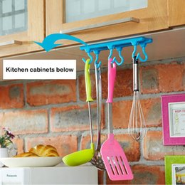 Wholesale Microwave Oven Shelf Rack - Kitchen ceiling hook Ceiling Storage rack cabinet 3M Command adhesive Bearing 2KG A196