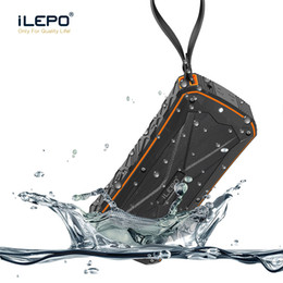 Wholesale dual charge power bank - iLepo IP6X Waterproof Bluetooth Speaker With Dual 8W Horns 4500mAh Big Capacity Support Power Bank Function TF Card Better Charge 3 Xtreme