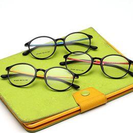 Óculos de carbono de tungstênio on-line-Atacado- 2016 Moda Masculina Espelho Simples Ultra-leve Tungstênio Miopia Óculos de Armação Mulheres Vintage Rodada Aço Carbono Computador Óculos