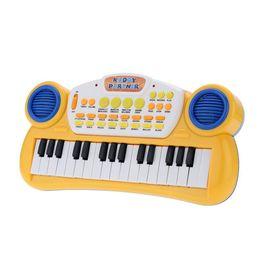 "Wholesale Music Typing Keyboard - 10"" 32 Keys Educational Cartoon Electone Multifunctional Electronic Keyboard Music Toy Gift for Children Babies Kids order<$18no track"