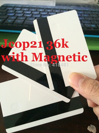 Wholesale Track Magnetic Card - stock For original CHIP Jcop21 36k JCOP 21 36K JCOP 2.3.1 JCOP V2.3.1 with Magnetic card width HiCo 2 Track 8.4or HiCo 3 Track