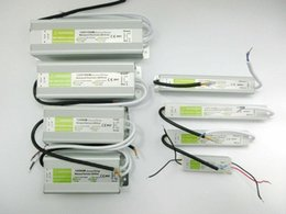 Wholesale Electronic High Power - High Quality 12V 5A Waterproof IP67 Electronic LED Driver Power Supply Transformer 90V-250V to 12V 60W 80w 100w 150w 200w
