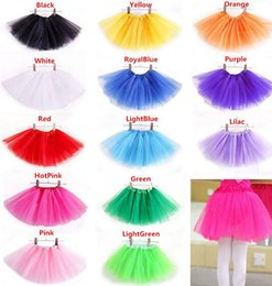 Wholesale Kids Ballet Dresses Sale - 2016 NEW Hot Sales Baby Girls Childrens Kids Dance Clothing Tutu Skirt Pettiskirt Dancewear Ballet Dress Fancy Skirts Costume 20pcs