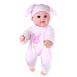 2019 disfraz de totoro vecino De alta calidad NPK Mini Reborn Baby Doll 20 pulgadas de Vinilo Bebé Alive Juguetes Niñas Cesta de Regalo Almohadas Mantas Traje de la mascota