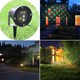 Wholesale Strobe Lights Waterproof - Waterproof Outdoor Christmas Lights Elf Laser Projector,Red Green Moving lights Decorative laser light for stage,disco,club,wedding party