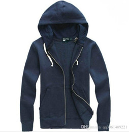 Wholesale Hoodie Horse - Free shipping 2018 new Hot sale Mens Big horse polo Hoodies and Sweatshirts autumn winter casual with a hood sport jacket men's hoodies
