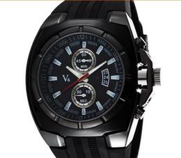 2015 vente chaude Nouveau V6 Mode Casual Quartz Hommes Montres SPORT Montre-Bracelet Dropship silicone Horloge De Mode Heures Robe Montre Montre DE NOËL CADEAU ? partir de fabricateur